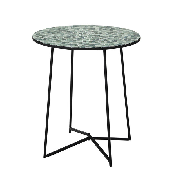 Bloomingville Sus Sidetable, Green, Glass