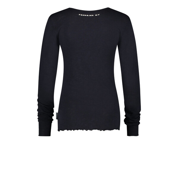 PENN&INK N.Y Long sleeve basic black